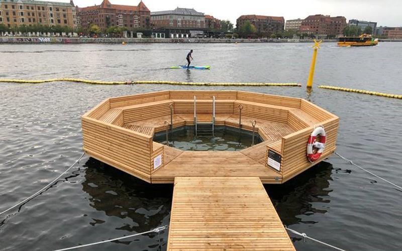 Ny dyppezone i København ved Kalvebod Bølge