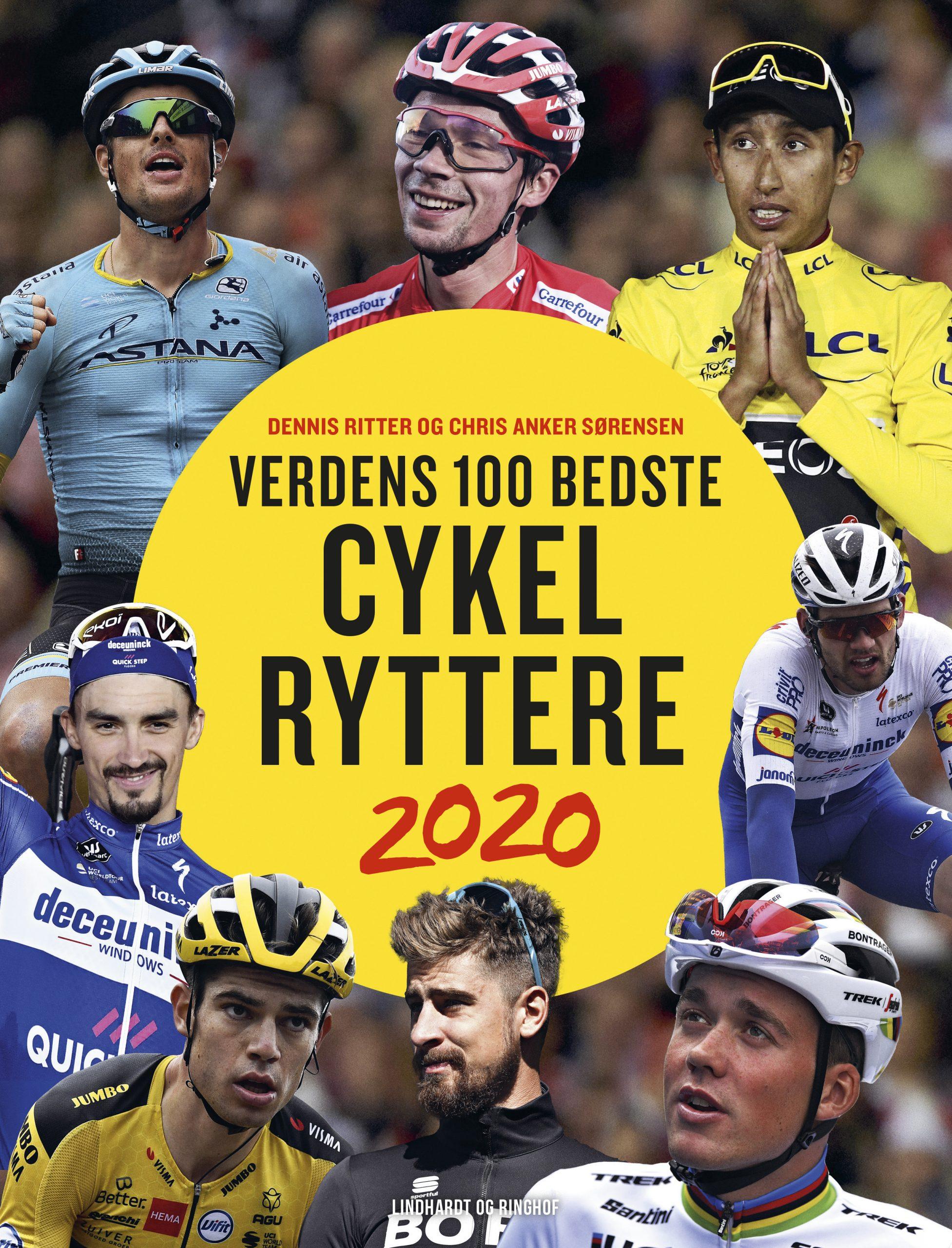 Ny bog om de 100 bedste cykelryttere