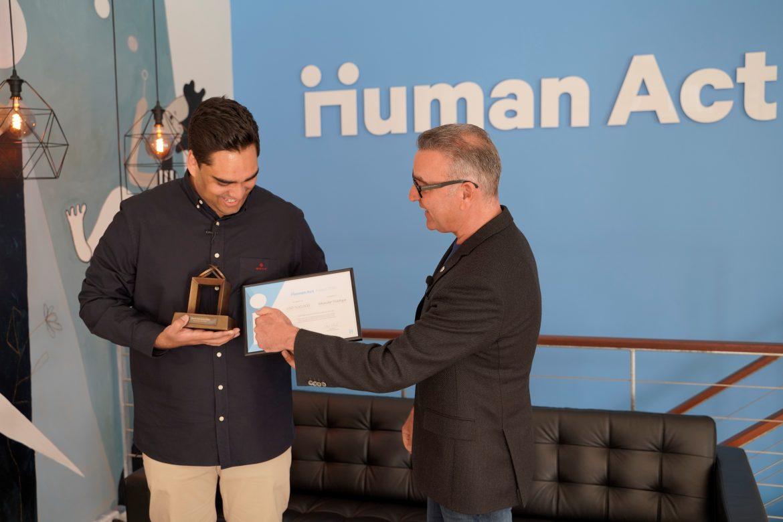 Årets Human Act Pris går til Sikandar Siddique