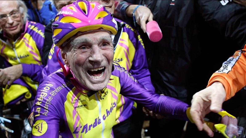 Verdens ældste cykelrytter er død