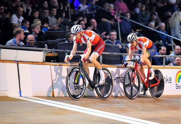 De olympiske mestre skal være Par nr. 7 i Ballerup